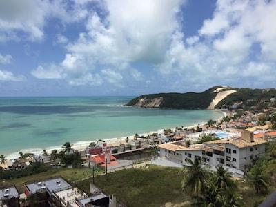 Apartamento em Ponta Negra com linda vista panorâmica para o mar!