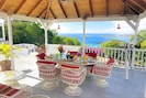Amazing views and sunsets from the living and dining gazebo