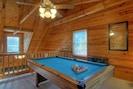 Seven Foot Pool table in Loft