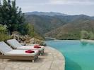 Infinity Pool and lake view