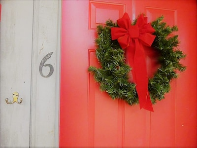 Front Door Bear Paw Cottage #6