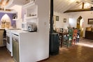 Open plan Kitchen/Dining Room for sociable meal prparation