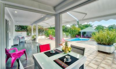 Un logement ouvert sur le jardin
