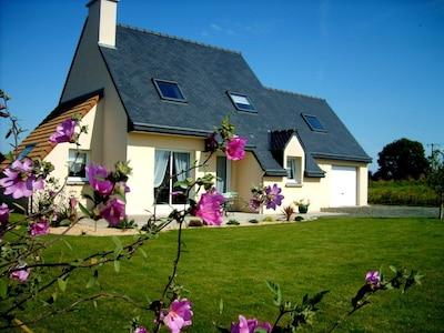 Plouec-du-Trieux, Département des Côtes-d'Armor, France