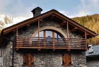 Valle Spluga, Lombardei, Italien