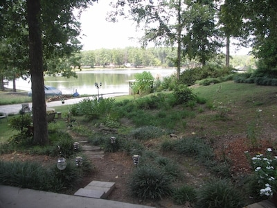 View from screen porch