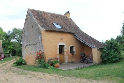 Asnieres sur Vegre, Sarthe, France