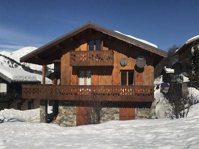 Charmant chalet familial dans les Alpes