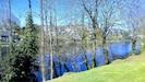 vue magnifique au bord des rives de la Dordogne