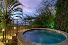 Enjoy a hot Jacuzzi with an incredible view