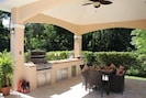 New pool side Outdoor Kitchen