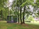 The new teahouse with a 360° panorama