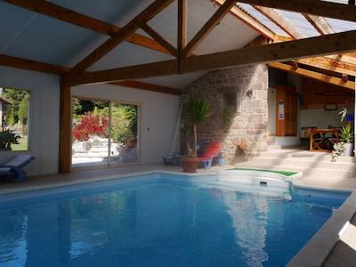 intérieur de la piscine