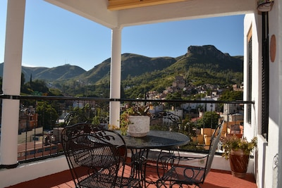 VIEW FROM PRIVATE  TERRAZA