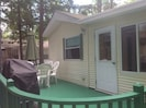 Back Porch, Bedroom on left, Sunroom on right Grill, New Grill 2014 Seats 6 - 8