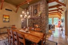 Open concept between the dining room and great room