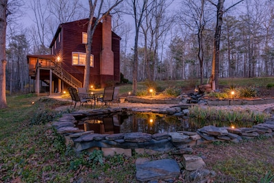 Landscape lighting for ambience during the evenings