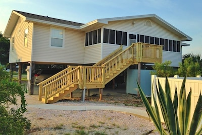 Spacious and comfortable beach house just a few steps to the beach boardwalk!