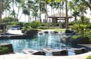 Beautiful lagoon pool & sand-bottom kiddie pool & Jacuzzis