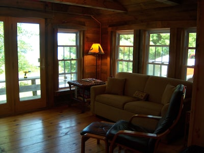 Cozy, warm living room