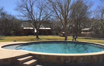 Come Enjoy Our New, solar-heated Pool!