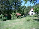 Haupthaus, Gartenhaus & Sauna