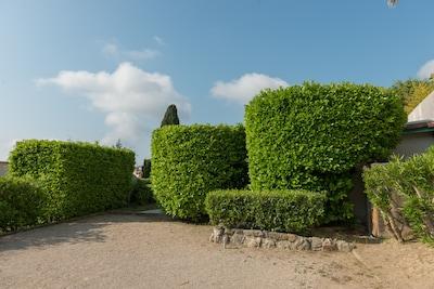 Vacances dans votre propre petite maison, piscine et palmeraie, Côte d'Azur, Vence / Nice