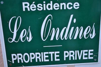 Les Ondines, clos privé, familial et tranquille