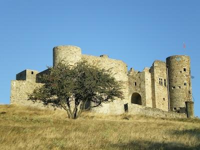 Château de portes 4H à pied du gîte