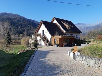 Le Ballon d'Alsace Ski Area, Sewen, Haut-Rhin, France