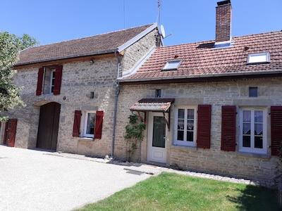 Gland, Yonne, Frankreich