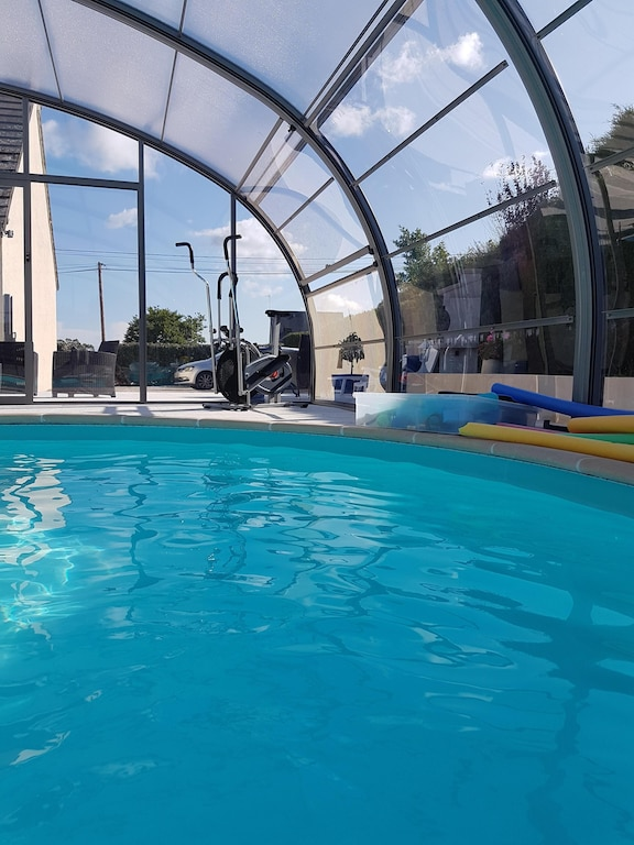 Guesthouse Indoor Swimming Pool Heated Since July 2015 And Wi Fi La Pernelle Use our inground pool cost estimator to find cheap ones. vrbo