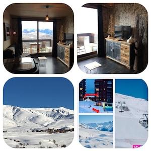 Rouet Ski Lift, Saint-Sorlin-d'Arves, Savoie (department), France