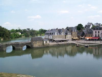 Port Saint-Goustan, Auray, Morbihan, France