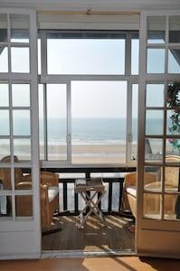 bow-window avec vue mer imprenable