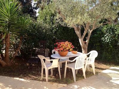 jolie maison tout confort avec jardinet