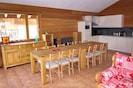 Espace cuisine pour 14 personnes