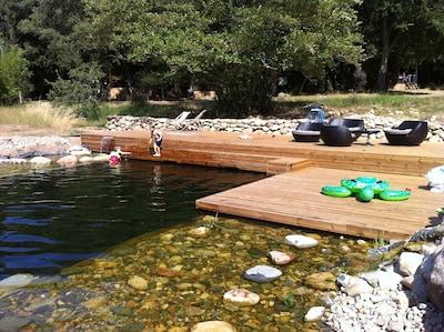 Notre baignade naturelle