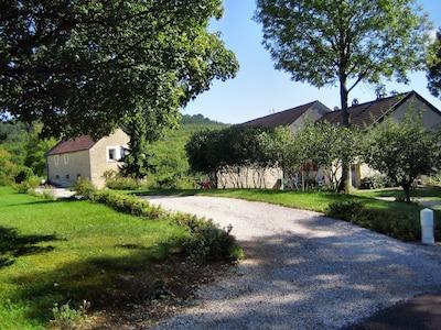 Sainte-Marie-sur-Ouche, Côte-d'Or (département), France