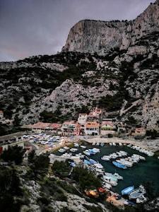 Calanque Sormiou, Marseille, Bouches-du-Rhone (department), France