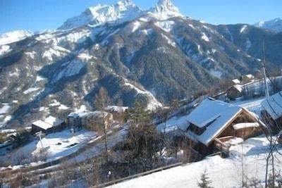 Ubaguets Ski Lift, Uvernet-Fours, Alpes-de-Haute-Provence (department), France
