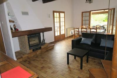 grande salle de séjour