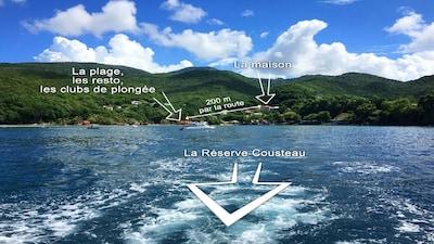 Plage de Malendure, Bouillante, Basse-Terre, Guadeloupe