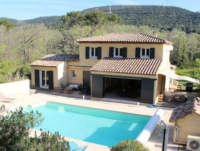 Villa vue des Restanques