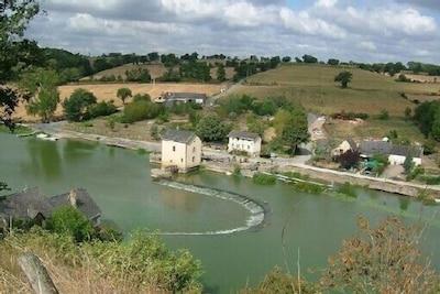 Saint-Sulpice, Mayenne, France