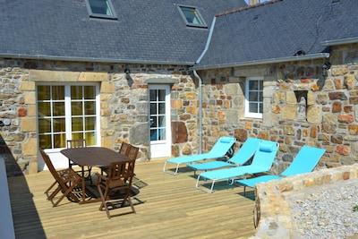 Terrasse avec accès direct séjour