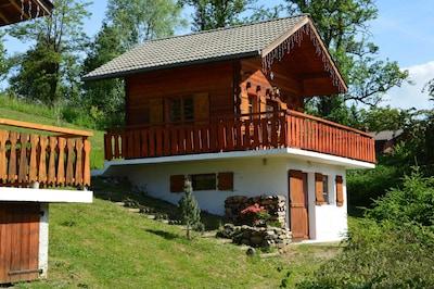 Skilift Crêtes, Habere-Poche, Haute-Savoie (Département), Frankreich