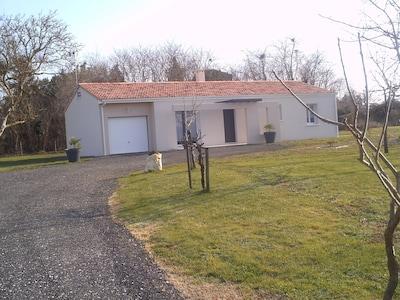 Maison de vacances au calme à la campagne