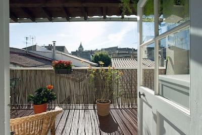Terrasse sans vis à vis