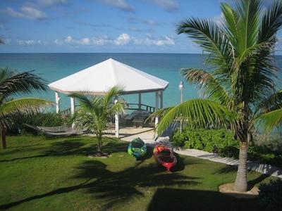 View from Dolphin House veranda
